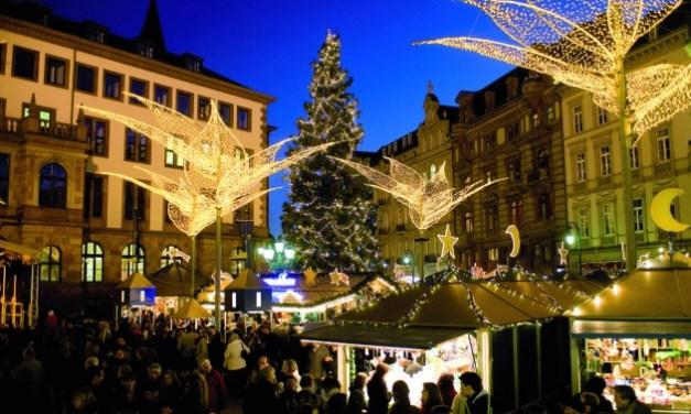 Wiesbaden's Twinkling Christmas Market