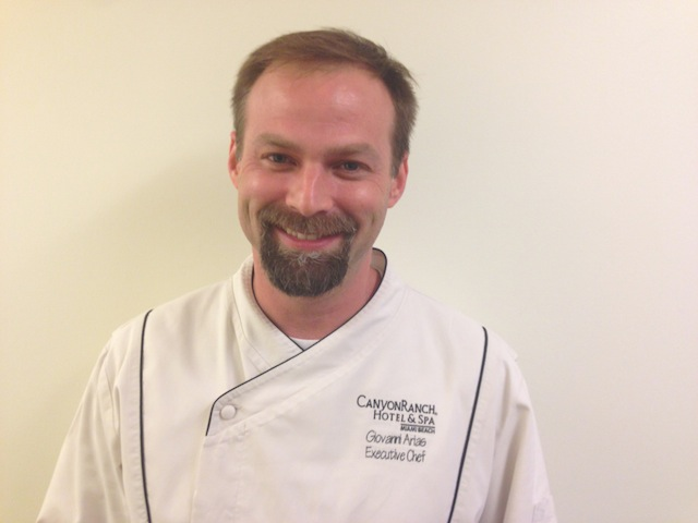 Canyon Ranch's Chef Giovanni Arias wins The 2013 Healthy Chef Award