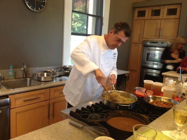 Chef Frank unveils insider secrets