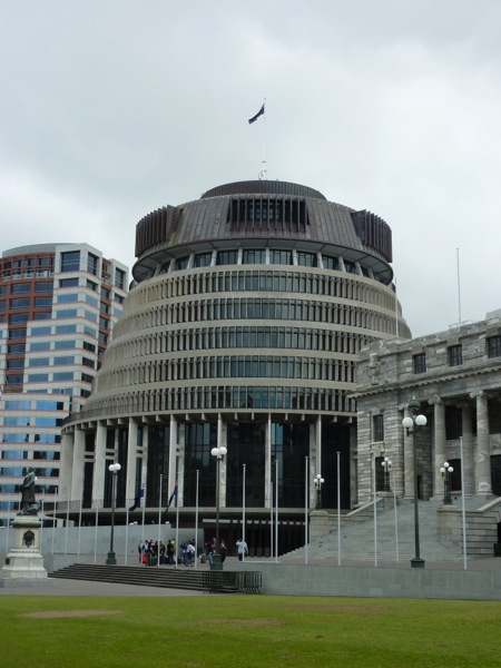 Parliament House aka The Beehive