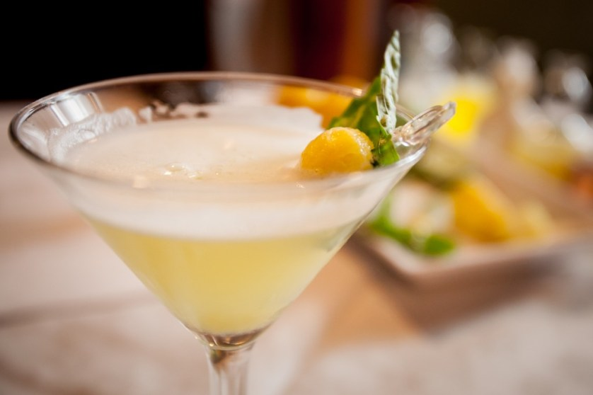 Pineapple Basil Martini Credit:  Jessica Pearl