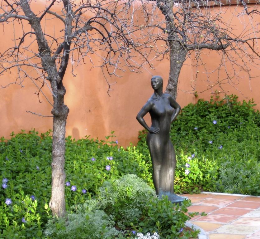 RLP Woman Between Trees