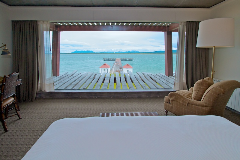Each guest room has an amazing view of the Sound from its room wide floor-to-ceiling picture window