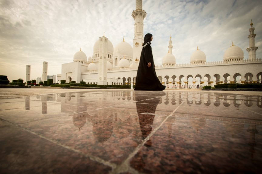 Beauty at Sheikh Zayed Grand Mosque