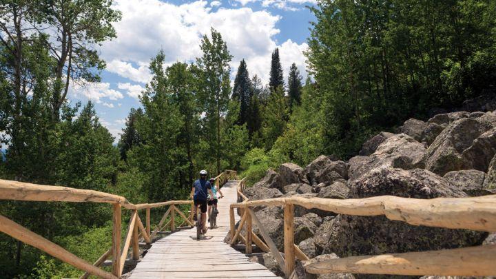 Jackson Hole Hike Courtesy of Four Seasons