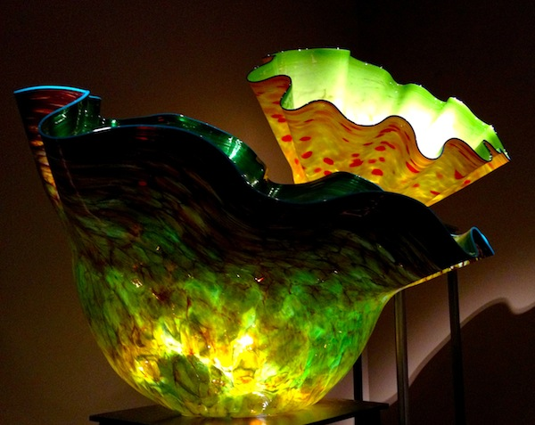 Macchia Forest filled with  trademark Chihuly bowls-pic by JRN