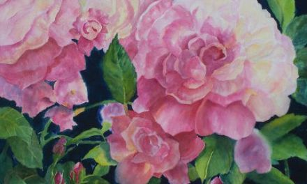 Vibrant Artist Kay Kalar of Fallbrook, California