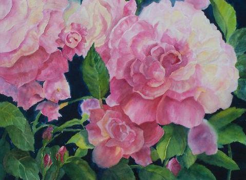 Vibrant Artist Kay Kalar of Fallbrook, California