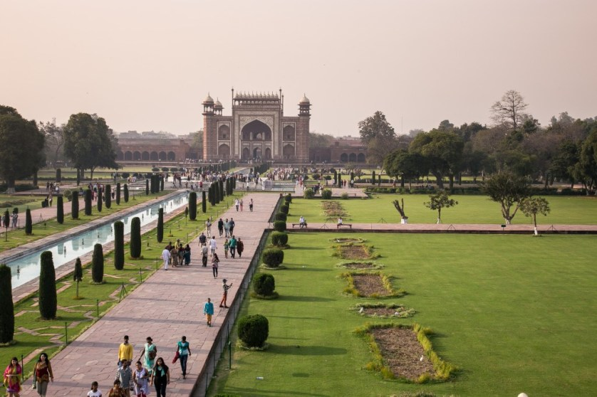View from Terrace to Gateway