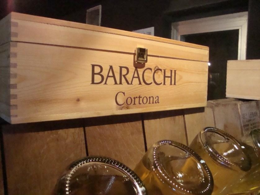 Baracchi winery in Cortona