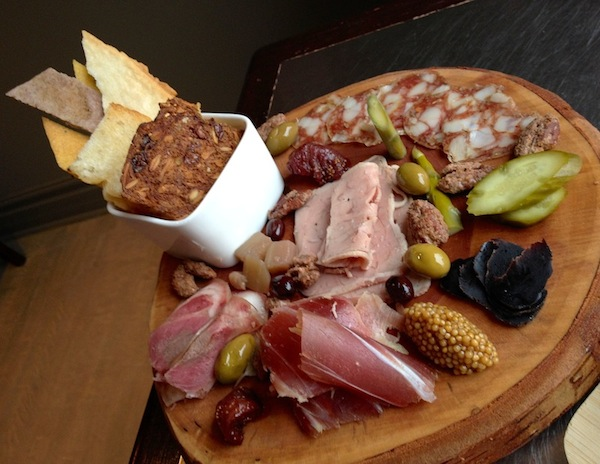 World's best charcuterie platter