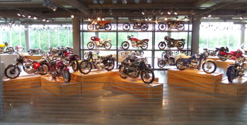 Barber Motorsports Museum, Birmingham, Alabama, has 1,400 exhibits.