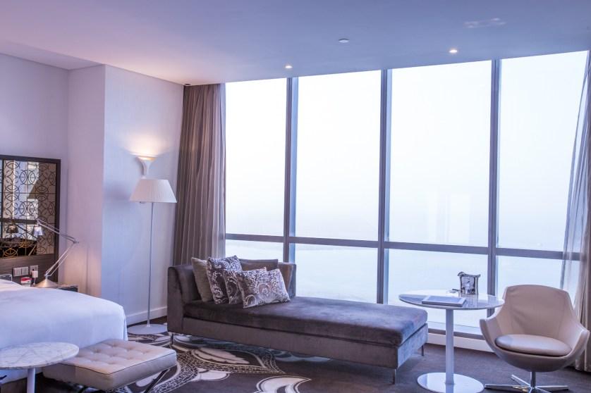 Jumeriah Ethiad Towers suite