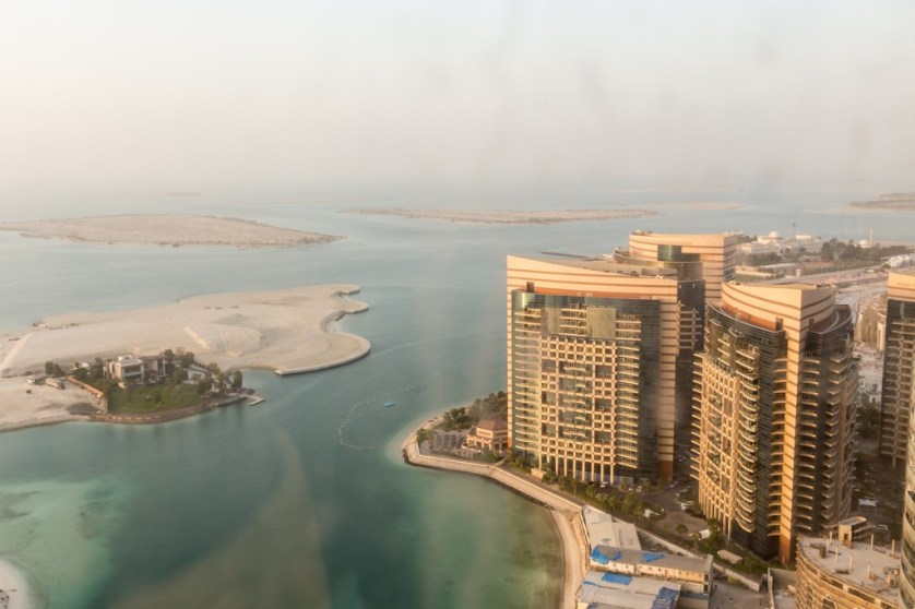View from Jumeriah Ethiad Towers suite