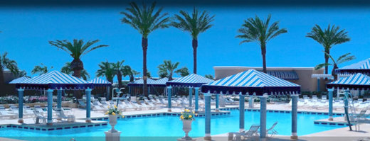 Beau Rivage has one of the best pool layouts