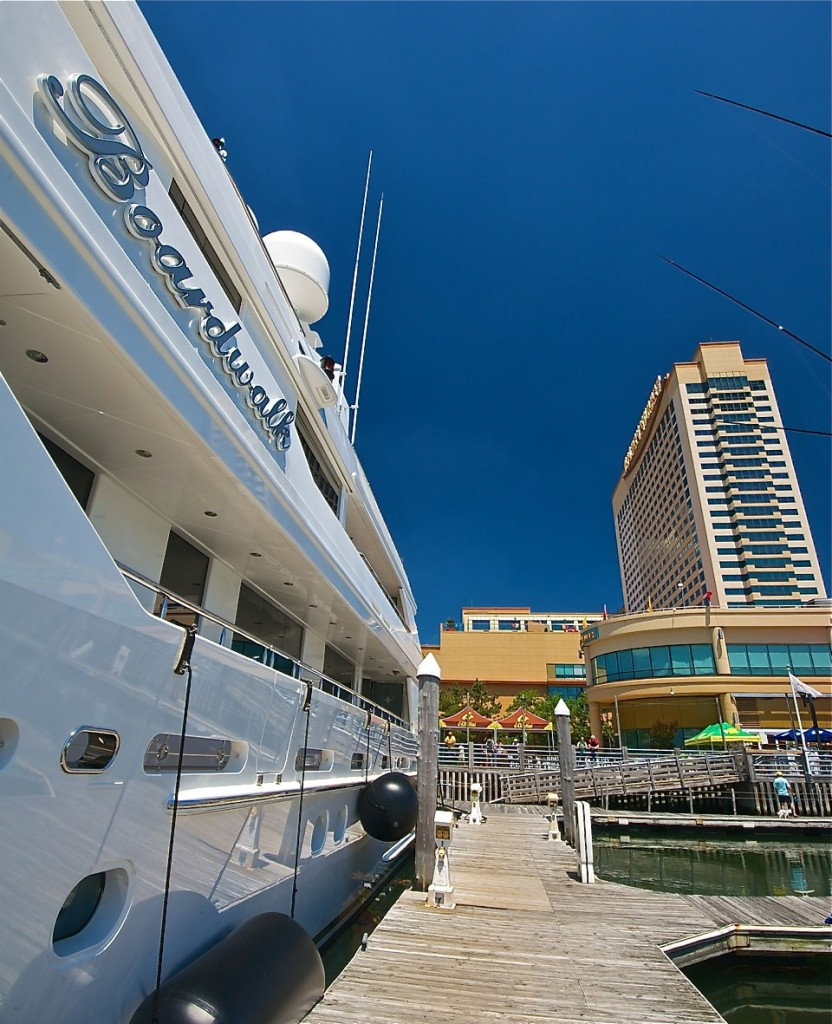 Indulge your alter ego aboard one of these in the Golden Nugget Marina. Image Credit © Dale Sanders 2014.