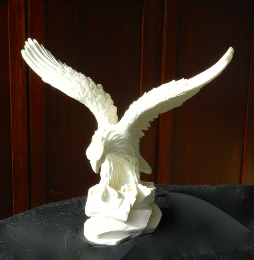 American Bald Eagle from American stone by an American artist.