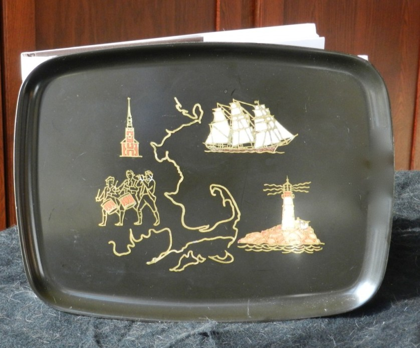 When I lived in New England, I gave these American made trays,