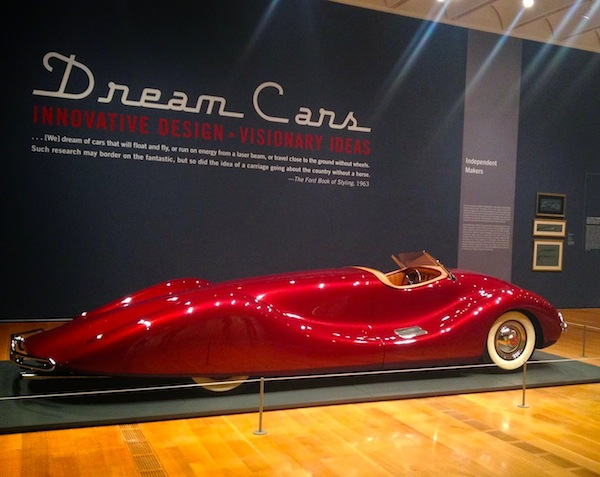 Dream Car exhibit is great for picking up men