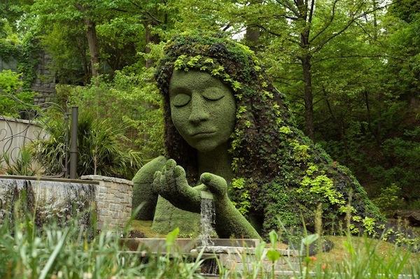 Earth Goddess at the Botanical Garden