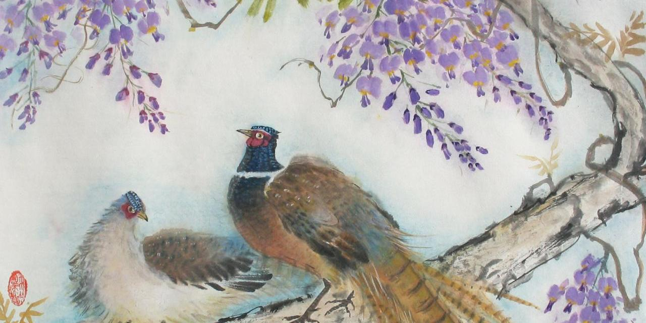 "Darlene Kaplan Imbues Her Oriental Brush Paintings, Workshops And Tea Tastings With ""Chi"""