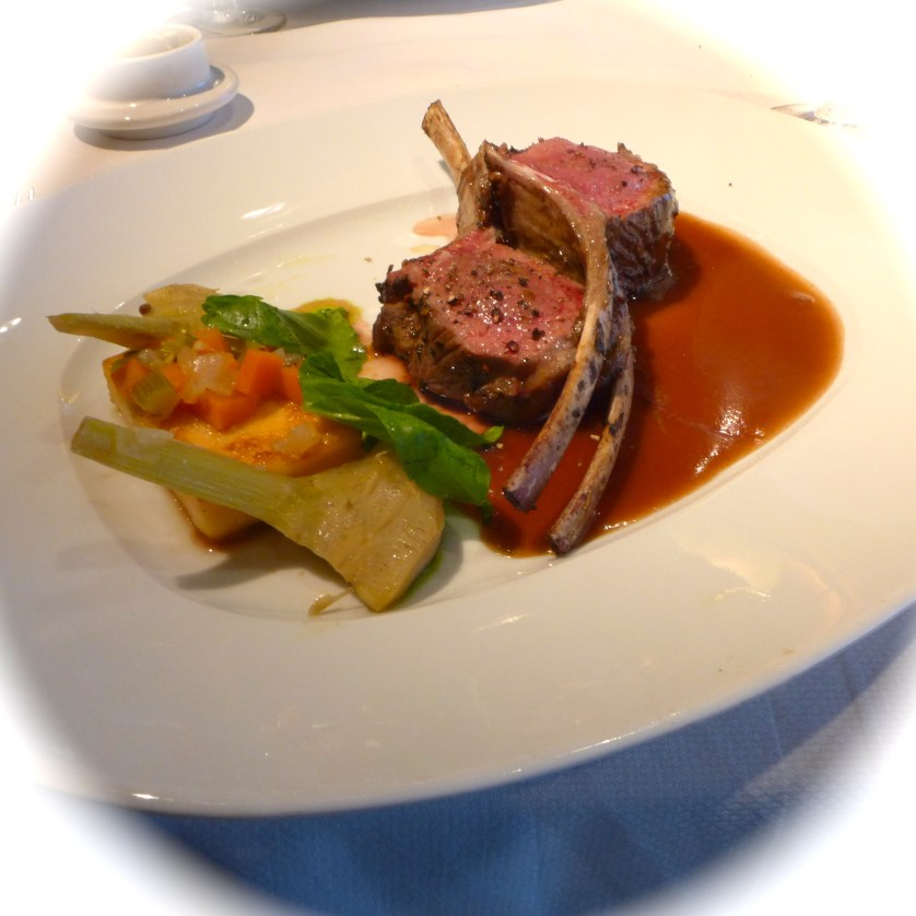 Le Cirque Rack of Lamb