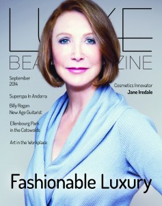 Luxe Beat Magazine September 2014 Cover