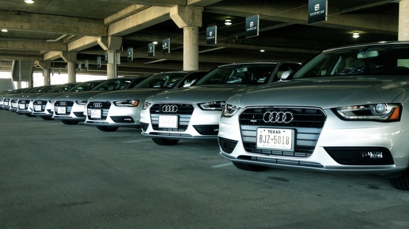 Palo Alto in style with Silvercar's Audi A4
