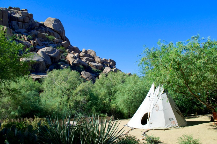 Boulders Tipi -Susan Lanier-Graham
