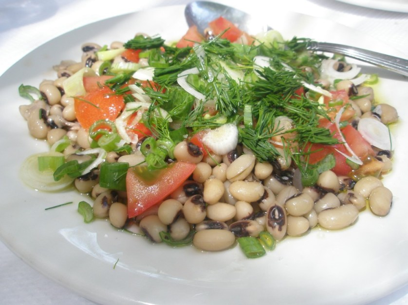 Black Eyed Pea Salad Photo: Nikki Rose