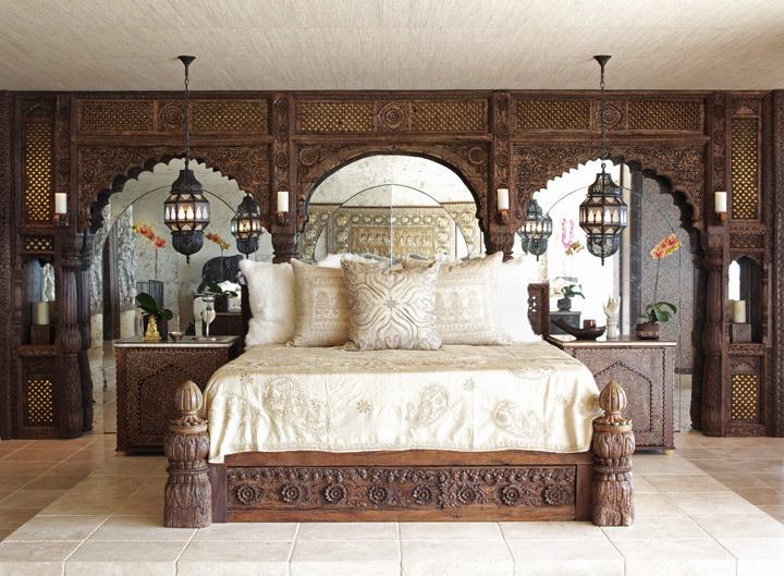Cher's Pied-à-Terre bedroom.