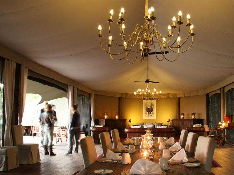 Mara Plains Camp Dining