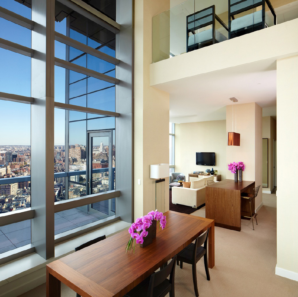Penthouse living at Trump SoHo New York