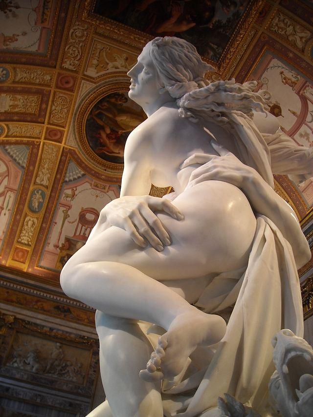 The Rape of Proserpina by Bernini c. 1621