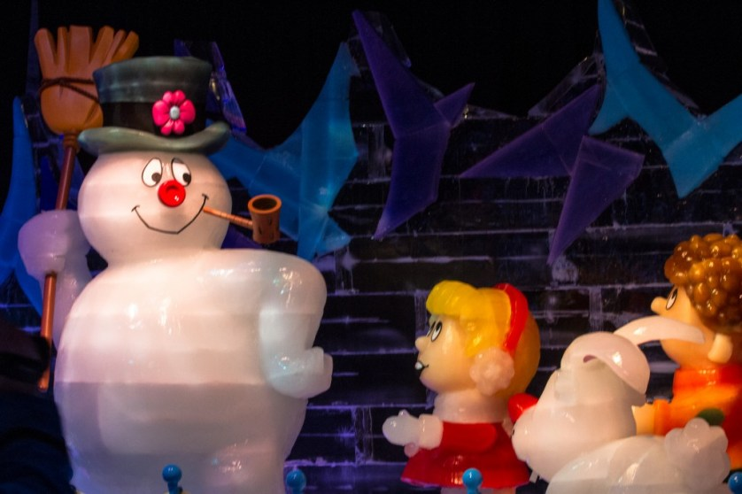 Frosty was the theme of ICE 2013.
