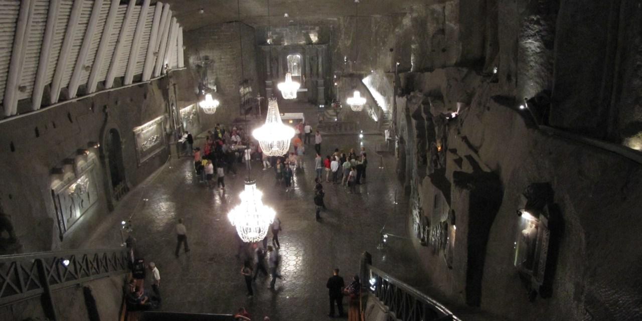 Wieliczka Salt Mine Art Treasures