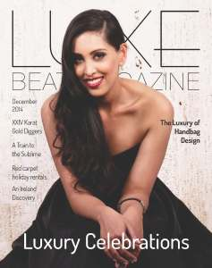 Luxe Beat Magazine DECEMBER 2014 Cover