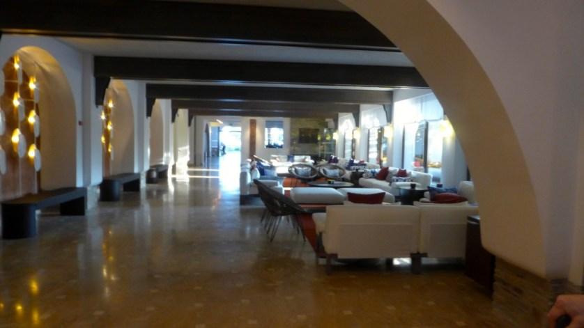 Lobby at Eagles Palace