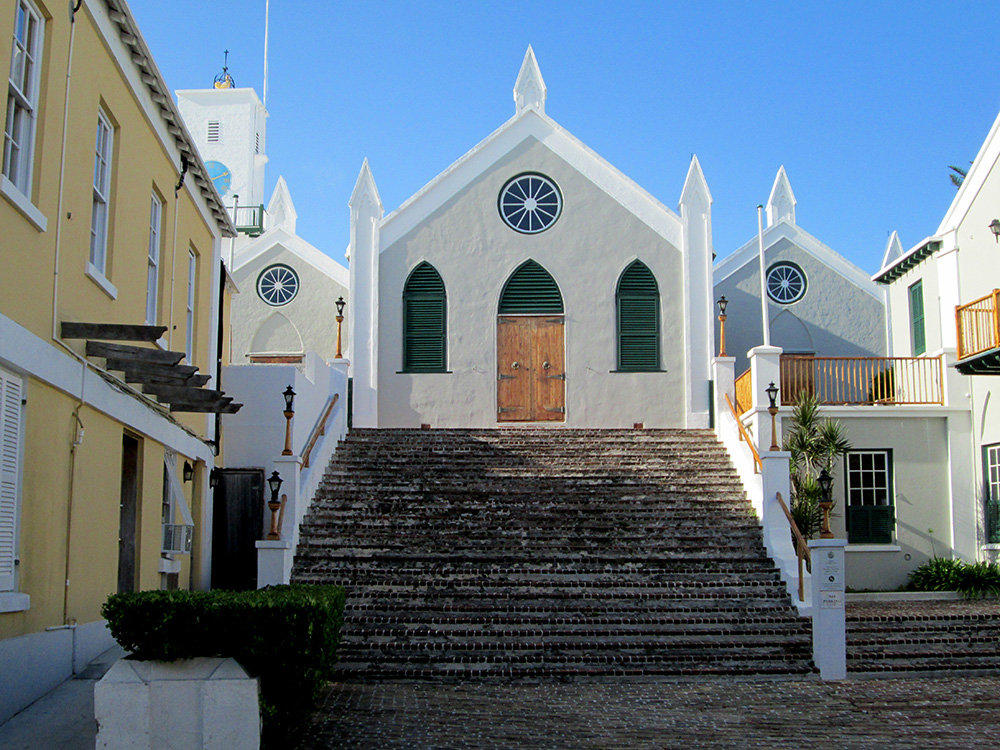 St Peters Church, the oldest Anglican Church in the Western Hemisphere