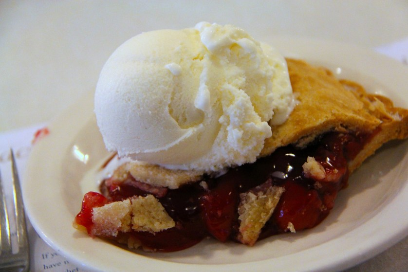 Cherry Pie a la Mode at Old Post Office courtesy of Door County Visitor Bureau/Jon Jarosh