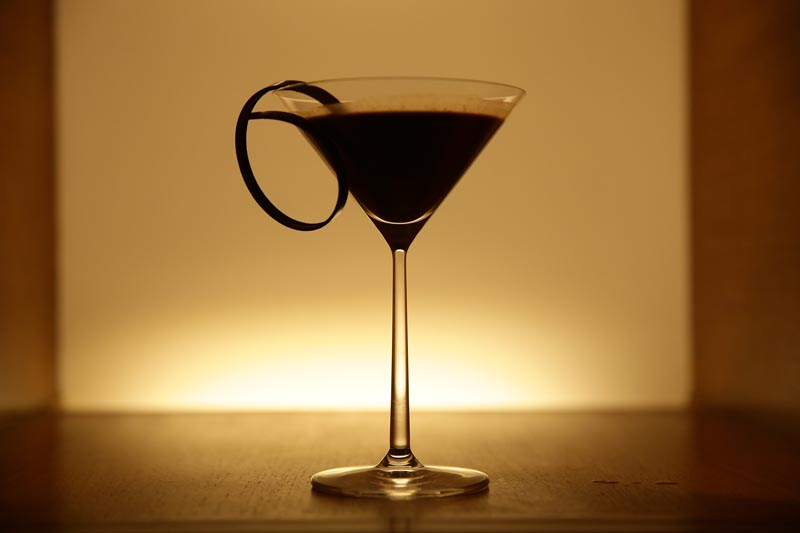 Chocolate Affair cocktail at Chocolate Dinner