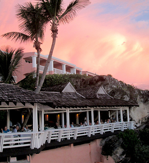 Fine dining with a view at the Reefs Resort