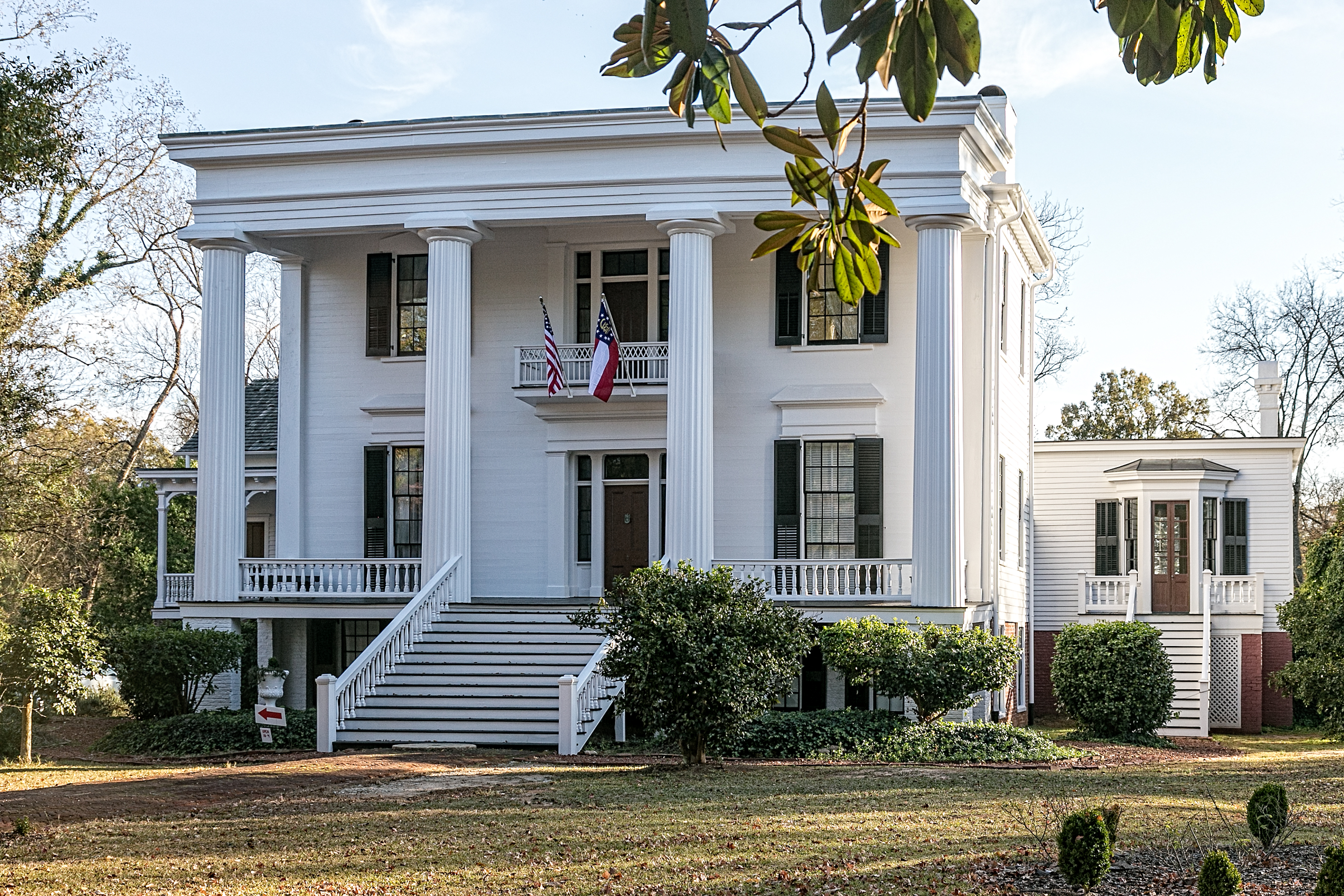 Antebellum homes and fitzpatrick hotel washington for Calloway homes