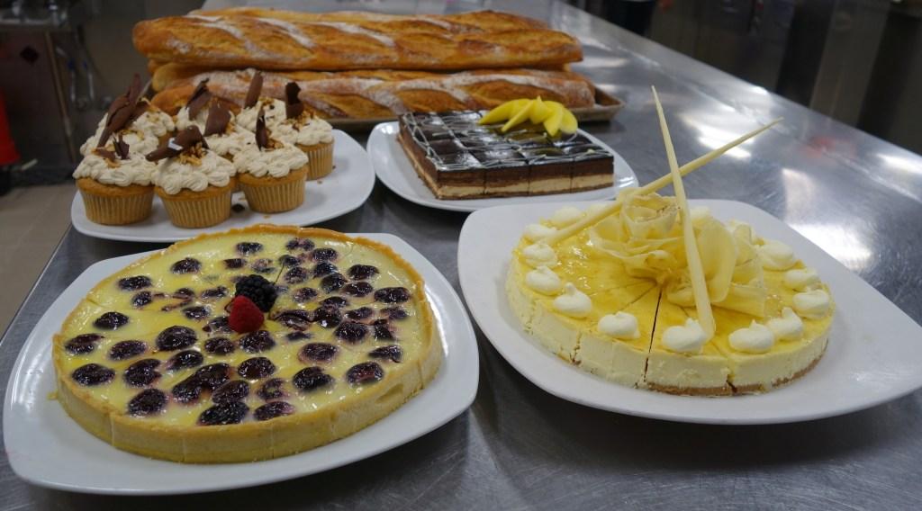 Luscious desserts Chef Rafael De Freitas