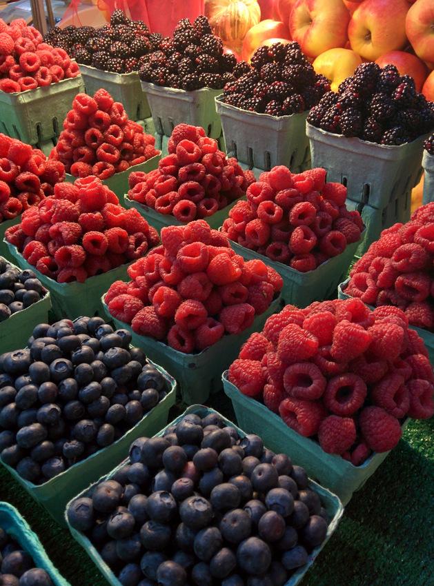 Berries at Granville Island Public Market