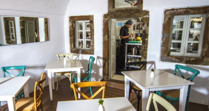 Kitchen Courtesy of Iconic Santorini
