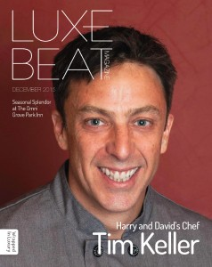 Luxe Beat Magazine December 2015 Cover