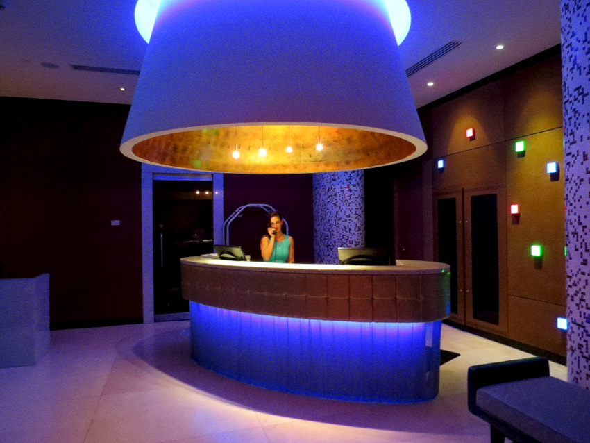 Opus Vancouver Lobby