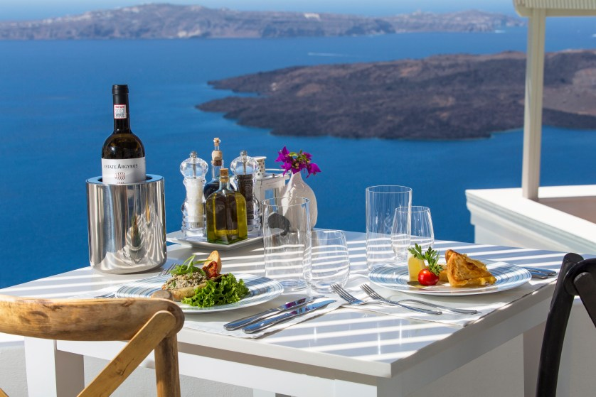 Pergla Restaurant - Lunch Courtesy Iconic Santorini