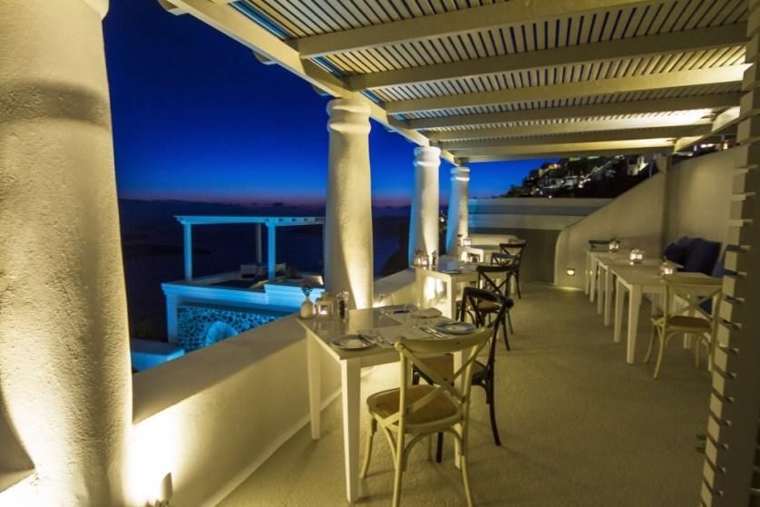 Pergola Restaurant  Courtesy of Iconic Santorini